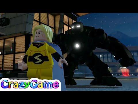 #LEGO Marvel's Avengers 100% Guide S.H.I.E.L.D Base (Stan Lee, Character Tokens, Gold Bricks)