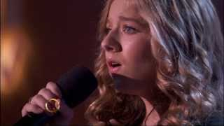 "Jackie Evancho ""Music of The Night"" Queen Latifah 12-4-2013"