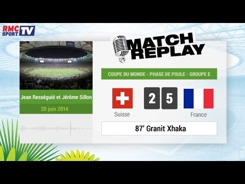 Suisse - France : Le Match Replay avec le son RMC Sport !