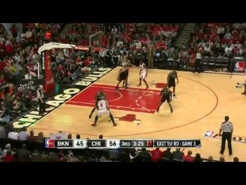 NBA Playoffs 2013: NBA Brooklyn Nets Vs Chicago Bulls Highlights April 25, 2013 Game 3