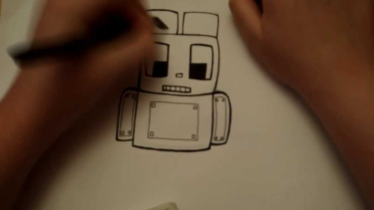 Cool Easy to Draw Robots How to Draw a Robot Easy Step