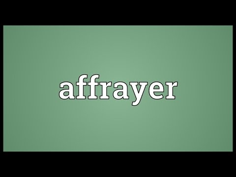 Header of affrayer