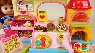 Baby Doll Pizza shop food and kitchen toys
