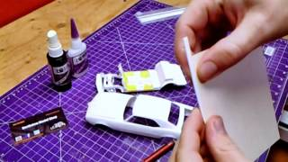 How To Build 1/25 Model Car Trunks