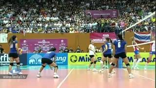 ไทย - เซอร์เบีย Thailand - Serbia Volleyball World Grandprix 2012 - Bangkok
