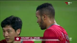 فيديو اهداف لخويا 4 - 1 العربي دوري نجوم قطر