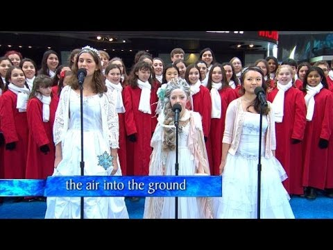 Gma's Epic frozen Sing-a-long, Live! video