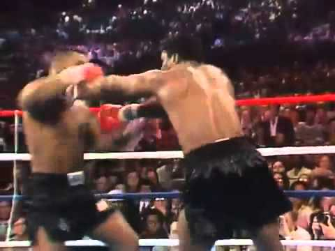 MIKE TYSON first title fight