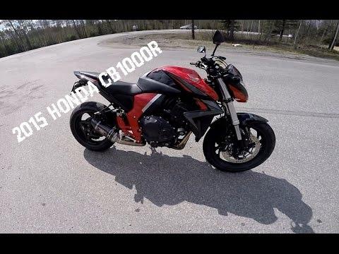 2015 Honda CB1000R - Fourth bike tested