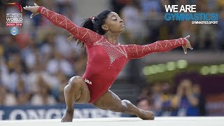 2018 Artistic Worlds, Doha (QAT) -  HIGHLIGHTS -  Women's Individual Apparatus Finals  Day 2
