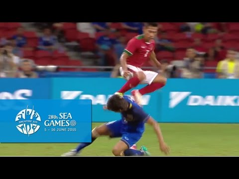 Football Mens Semi-Final 2 Thailand vs Indonesia Full Match Highlights | 28th SEA Games