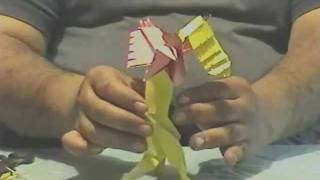 How To Make Another Origami Harpy Part 2.wmv