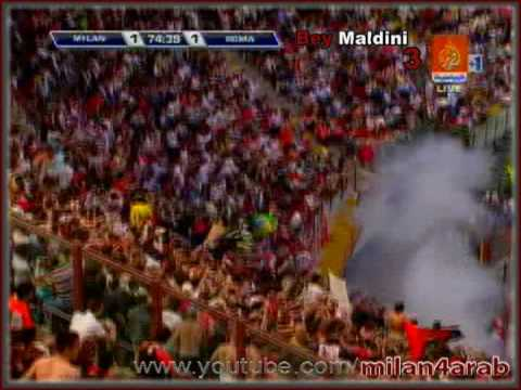 Ac milan 2 Vs 3 As Roma   Highlights   Retirement  of Paolo Maldini   HQ