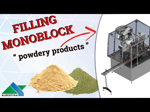 Albertina - Automatic filling and capping monoblock Powderline