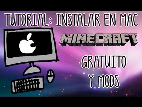 Cómo instalar Minecraft (gratuito) y mods para MAC | Tutorial 1