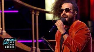 Reggie Watts Serenades Central Hall Westminster - #LateLateLondon