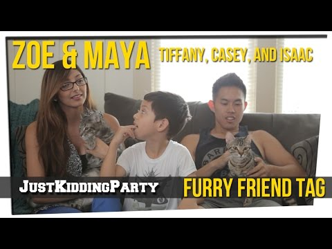 Furry Friend Tag ft Tiffany, Casey, Isaac, and Zoe & Maya