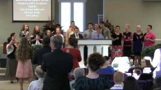 2011-08-21 Cornerstone Apostolic Youth Choir singing Ive Got A River Of Living Water