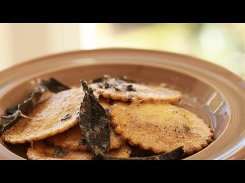 Squash Ravioli With Brown Butter Sage Sauce || KIN EATS