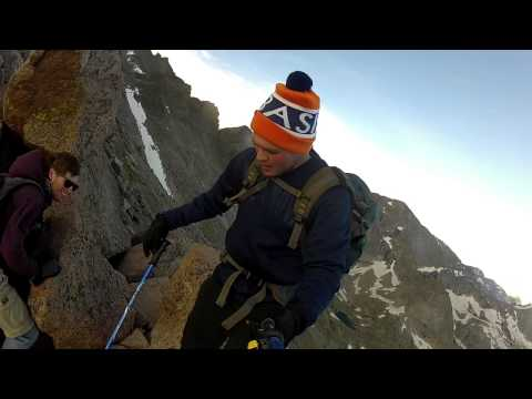 Longs Peak Summit Hike GoPro Footage from Rocky Mountain National Park
