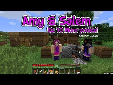 Minecraft PC Amy & Salem Ep. 10 More Ponies!