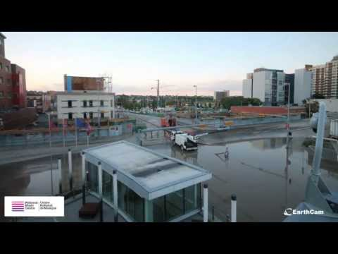 National Music Centre Calgary Flooding Time-Lapse