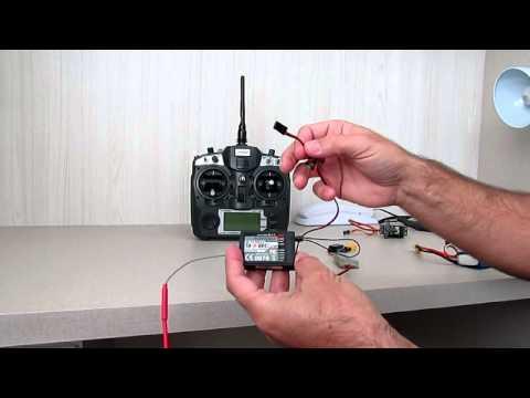 Como fazer o Bind no rádio Turnigy 9XV2