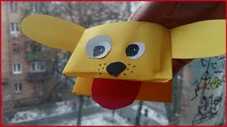 Origami Dog - How to Make Paper Toys - Animal Crafts