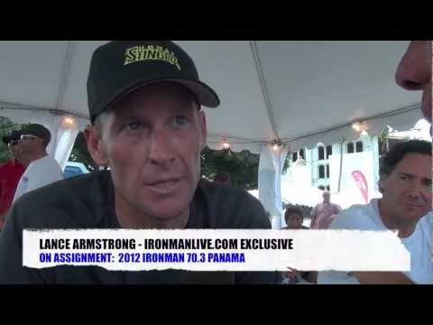 On Assignment Ironman 70.3 Panama: Lance Armstrong Exclusive Post Race Interview