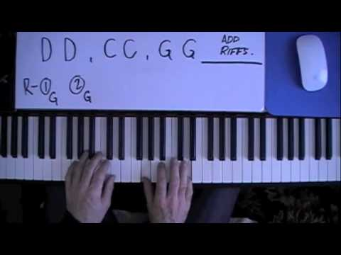 """""""Sweet Home Alabama"""" How to play on Piano (Tutorial)"""