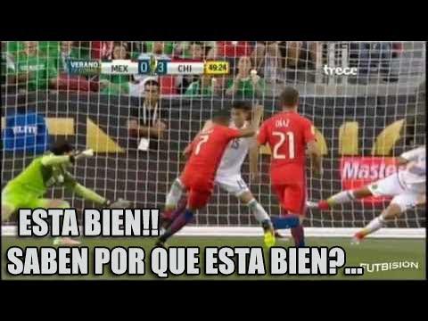 Chile 7 Mexico 0 | Relato Mexicano (Christian Martinoli)