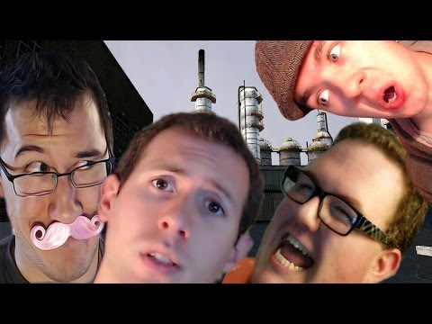 SO MANY VOICES | Prop Hunt w/ Markiplier, Bob and Wade