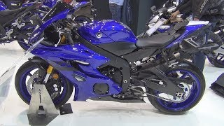 Yamaha YZF-R6 (2019) Exterior and Interior