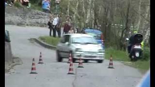 Slalom Terrinca Pian di Lago(botto crash muro peugeot 205 n15)2007