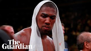Anthony Joshua reflects after shock heavyweight loss to Andy Ruiz Jr: 'It's settled in'