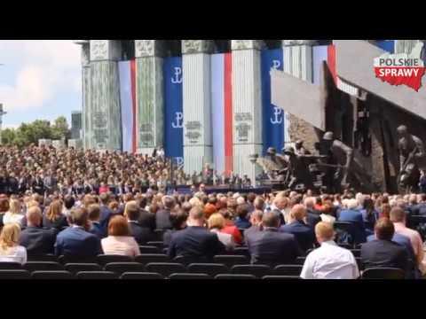 Donald Trump W Warszawie - Przemówienie Na Pl. Krasińskich