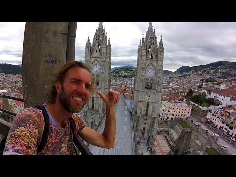 A Walking Tour of Beautiful QUITO, Ecuador