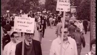 The Free Speech Movement: civil disobedience in Berkeley 1964