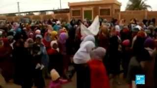 احتجاجات في الجزائر ضد استغلال الغاز الصخري