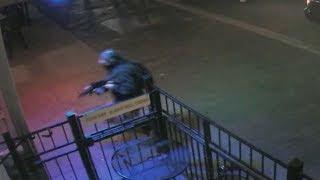 Moment police fatally shot Dayton gunman