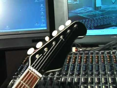 ELECTRIC GUITARS in studio // ELECTRONIC ART //
