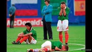 Mexico Bulgaria (Penales) - Mundial USA 94