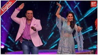 Madhuri Dixit & Govinda At  Dance Deewane Show | Madhuri Dixit & Govinda Dance Video