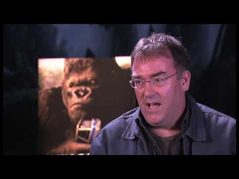 Making of King Kong 360 3D attraction at Universal Studios Hollywood backlot tram tour