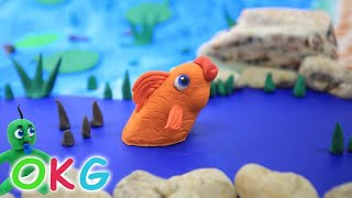 Our Best of Green Baby Cartoons - Play Doh & Clay Animated Video For Kids