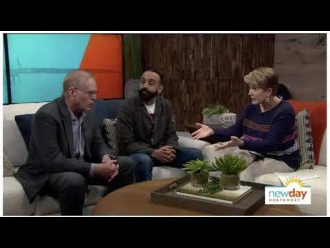 Why Wake Up Bainbridge | Local News Coverage | Margaret Larson New Day Northwest Quote
