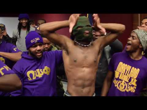 Gangsta Gamma Mu Chapter of Omega Psi Phi Probate Fall16