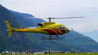 RC TURBINE HELICOPTER SCALE MODEL HELIBERNINA SWITZERLAND