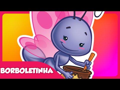 Borboletinha - DVD Galinha Pintadinha 2 - Desenho Infantil