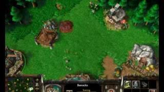 Warcraft 3 Orcs Vs Humans Part 1